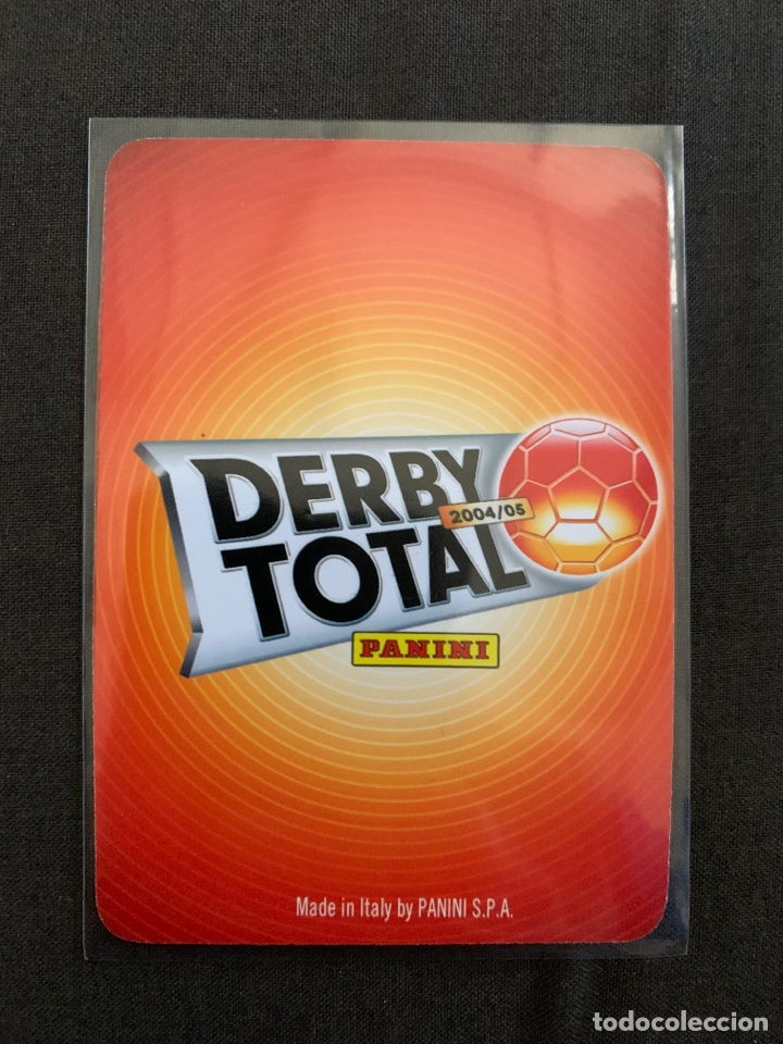 Cromos de Fútbol: Raul 118 Derby total 2004-2005 - Foto 2 - 268957594