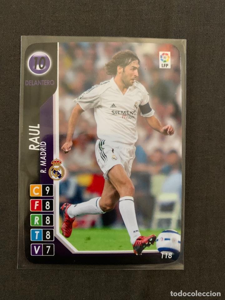 RAUL 118 DERBY TOTAL 2004-2005 (Coleccionismo Deportivo - Álbumes y Cromos de Deportes - Cromos de Fútbol)