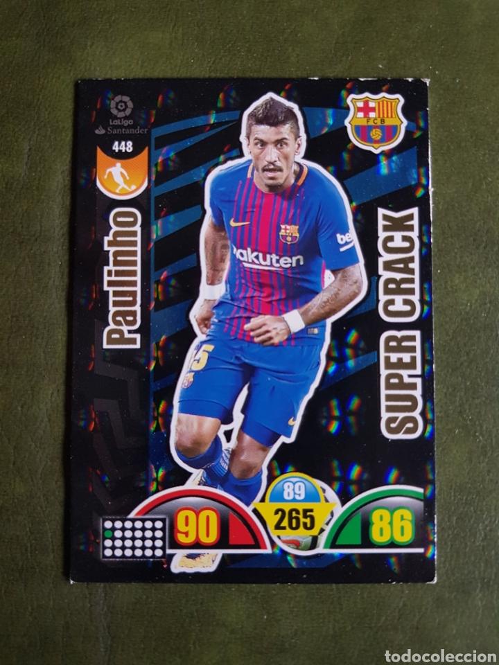 CROMO PAULINHO - BARCELONA (Coleccionismo Deportivo - Álbumes y Cromos de Deportes - Cromos de Fútbol)