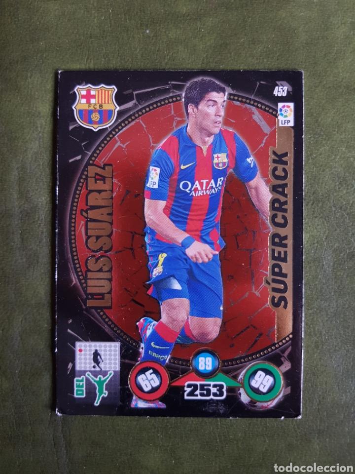 CROMO LUIS SUAREZ - BARCELONA (Coleccionismo Deportivo - Álbumes y Cromos de Deportes - Cromos de Fútbol)