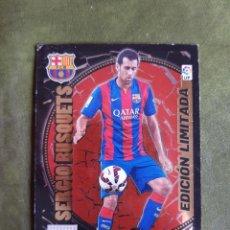 Cromos de Fútbol: CROMO SERGIO BUSQUETS - BARCELONA. Lote 268974699