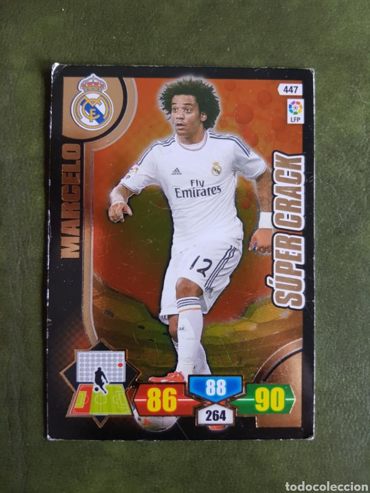 CROMO MARCELO - REAL MADRID (Coleccionismo Deportivo - Álbumes y Cromos de Deportes - Cromos de Fútbol)