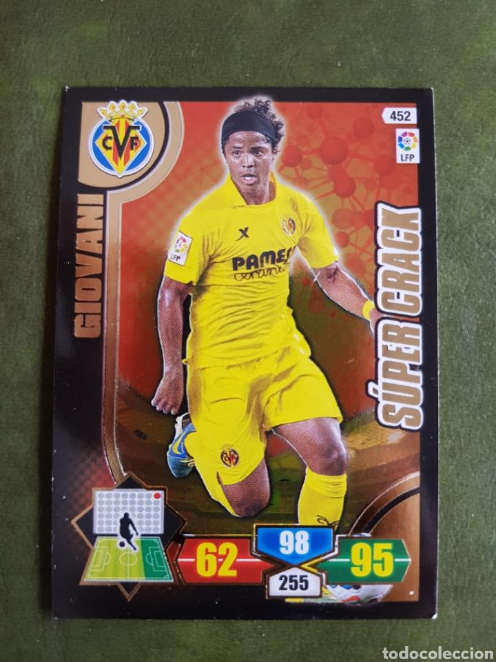 CROMO GIOVANI - VILLARREAL (Coleccionismo Deportivo - Álbumes y Cromos de Deportes - Cromos de Fútbol)