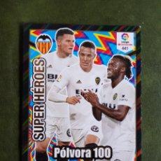 Cromos de Fútbol: CROMO POLVORA 100 - VALENCIA. Lote 268979444