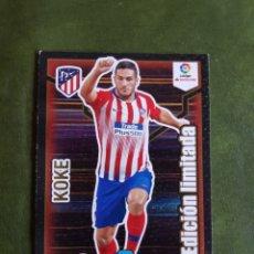 Cromos de Fútbol: CROMO KOKE - ATLÉTICO DE MADRID. Lote 268979754