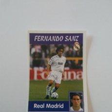 Cromos de Fútbol: 9A 9 A FERNANDO SANZ COLOCA REAL MADRID ESTAMPA CROMO STICKER LIGA FÚTBOL PANINI 1997-1998 97-98. Lote 268997514
