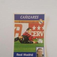 Cromos de Fútbol: 16 CAÑIZARES REAL MADRID ESTAMPA FIGURA CROMO STICKER LIGA FÚTBOL PANINI 1997-1998 97-98. Lote 268997899