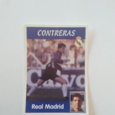 Cromos de Fútbol: 16A 16 A CONTRERAS COLOCA REAL MADRID ESTAMPA CROMO STICKER LIGA FÚTBOL PANINI 1997-1998 97-98. Lote 268998034