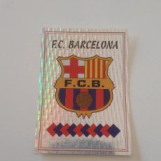 Cromos de Fútbol: LETRA B ESCUDO LOGO BARCELONA BARÇA ESTAMPA CROMO STICKER LIGA FÚTBOL PANINI 1997-1998 97-98. Lote 268998239