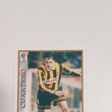 Cartes à collectionner de Football: Nº 286 CUARTERO (ERROR CON ESCUDO VALLADOLID) LIGA 97/98 MUNDICROMO 1997/1998. Lote 269016979