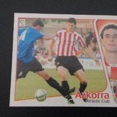 Cromos de Fútbol: ESTE 04 05 FICHAJE AZKORRA SIN PEGAR. Lote 269055198