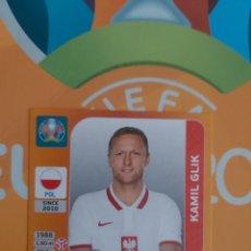 Cromos de Fútbol: GLIK,POLONIA, EURO 2020,NÚMERO 464. Lote 269055218