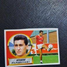 Cromos de Fútbol: HERRERO MURCIA ESTE 1988 1989 CROMO FUTBOL LIGA 88 89 - RECUPERADO ALBUM - 2234. Lote 269093783