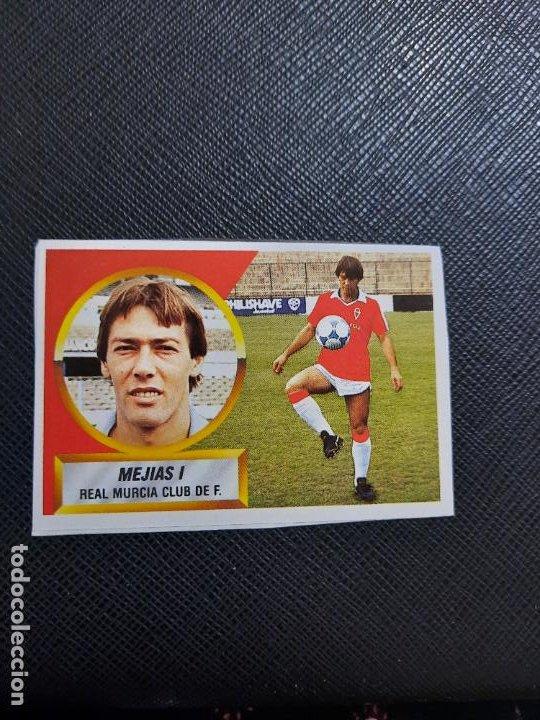 MEJIAS I MURCIA ESTE 1988 1989 CROMO FUTBOL LIGA 88 89 - RECUPERADO ALBUM - 2238 (Coleccionismo Deportivo - Álbumes y Cromos de Deportes - Cromos de Fútbol)