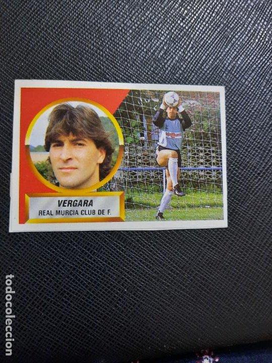 VERGARA MURCIA ESTE 1988 1989 CROMO FUTBOL LIGA 88 89 - RECUPERADO ALBUM - 2239 (Coleccionismo Deportivo - Álbumes y Cromos de Deportes - Cromos de Fútbol)