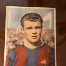 Cromos de Fútbol: BARCELONA EQUIPO EN 11 CROMOS GIGANTES DE 30X20 CENTIMETROS PRECIOSA Y MUY BUEN ESTAD KUBALA ROOKIE. Lote 269121963