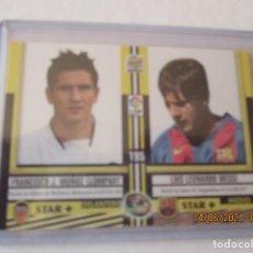 Football Stickers: TOP 2005 LIGA 2004/05 MESSI (ROOKIE) CROMO MATE Nº 195 INMACULADO FC.BARCELONA MUNDICROMO Y SU SOBRE. Lote 266790049