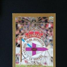 Cromos de Fútbol: #199 ESCUDO RCD DEPORTIVO LAS FICHAS DE LA LIGA 98 99 MUNDICROMO 1998 1999. Lote 269183438