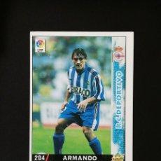 Cromos de Fútbol: #204 ARMANDO RCD DEPORTIVO LAS FICHAS DE LA LIGA 98 99 MUNDICROMO 1998 1999. Lote 269184303