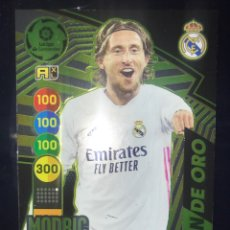 Cromos de Fútbol: 512 NUEVO BALÓN DE ORO MODRIC ADRENALYN XL LIGA 20 21 2020 2021 R. MADRID. Lote 269184508