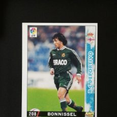 Cromos de Fútbol: #208 BONISSEL RCD DEPORTIVO LAS FICHAS DE LA LIGA 98 99 MUNDICROMO 1998 1999. Lote 269184743