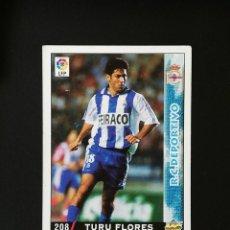Cromos de Fútbol: #208 TURU FLORES RCD DEPORTIVO LAS FICHAS DE LA LIGA 98 99 MUNDICROMO 1998 1999. Lote 269184828
