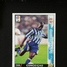 Cromos de Fútbol: #209 CONCEIÇAO RCD DEPORTIVO LAS FICHAS DE LA LIGA 98 99 MUNDICROMO 1998 1999. Lote 269184933