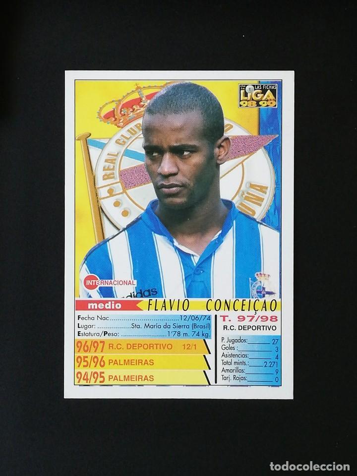 Cromos de Fútbol: #209 CONCEIÇAO RCD DEPORTIVO LAS FICHAS DE LA LIGA 98 99 MUNDICROMO 1998 1999 - Foto 2 - 269184933