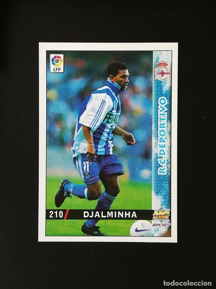 #210 DJALMINHA RCD DEPORTIVO LAS FICHAS DE LA LIGA 98 99 MUNDICROMO 1998 1999 (Coleccionismo Deportivo - Álbumes y Cromos de Deportes - Cromos de Fútbol)