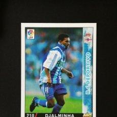 Cromos de Fútbol: #210 DJALMINHA RCD DEPORTIVO LAS FICHAS DE LA LIGA 98 99 MUNDICROMO 1998 1999. Lote 269185038