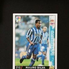 Cromos de Fútbol: #212 MAURO SILVA RCD DEPORTIVO LAS FICHAS DE LA LIGA 98 99 MUNDICROMO 1998 1999. Lote 269185253