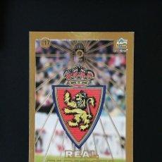 Cromos de Fútbol: #217 ESCUDO REAL ZARAGOZA LAS FICHAS DE LA LIGA 98 99 MUNDICROMO 1998 1999. Lote 269185838