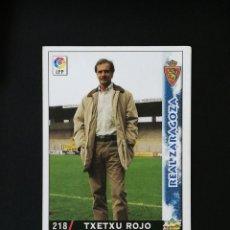 Cromos de Fútbol: #218 TXETXU ROJO REAL ZARAGOZA LAS FICHAS DE LA LIGA 98 99 MUNDICROMO 1998 1999. Lote 269185968