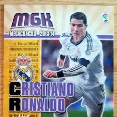 Cromos de Fútbol: MGK 216 CRISTIANO RONALDO REAL MADRID CROMOS ALBUM MEGACRACKS LIGA FUTBOL 2013 2014 13 14. Lote 269187930