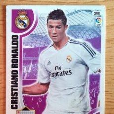 Cromos de Fútbol: CROMO Nº 208 CRISTIANO RONALDO - ADRENALYN LIGA 2013 14 - REAL MADRID. Lote 269188022
