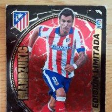 Cromos de Fútbol: MANDZUKIC ATLETICO DE MADRID ADRENALYN ESTE 2014 2015 CROMO FUTBOL 14 15 EDICION LIMITADA. Lote 269188242