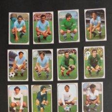 Cromos de Fútbol: 16 CROMOS NUEVOS TODOS DIFERENTES - EDICIONES ESTE 1976-1977 - 76-77 - VER FOTOS ADICIONALES. Lote 269200263
