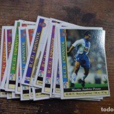 Cromos de Fútbol: LOTE DE 20 CROMOS DEL ESPANYOL, LIGA 2000, MUNDICROMO, VER DESCRIPCION,. Lote 269202598