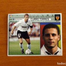Cromos de Fútbol: VALENCIA - CURRO TORRES - EDICIONES ESTE 2001-2002, 01-02 - NUNCA PEGADO. Lote 269221478