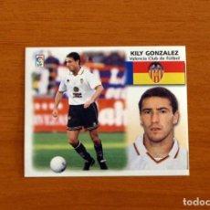 Cromos de Fútbol: VALENCIA - FICHAJE Nº 28 - KILY GONZÁLEZ - EDICIONES ESTE 1999-2000, 99-00 - NUNCA PEGADO. Lote 269221773