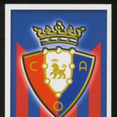 Cromos de Fútbol: #1018. ESCUDO - CA OSASUNA 2015/2016 - MUNDICROMO FICHAS LIGA CARD/CROMO 15/16. Lote 269221798