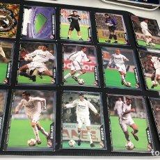 Cromos de Fútbol: 16 CROMOS REAL MADRID MUNDICROMO 2004. Lote 269222458