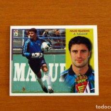 Cromos de Fútbol: VALLADOLID - JULIO IGLESIAS - COLOCA - EDICIONES ESTE 2002-2003, 02-03 - NUNCA PEGADO. Lote 269269478