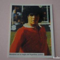 Cromos de Fútbol: CROMO DE FUTBOL IL PIU GRANDE MARADONA SIN PEGAR Nº 15 AÑO 2005 DE PREZIOSI COLLECTION. Lote 269285128