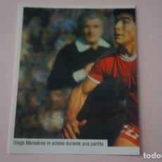 Cromos de Fútbol: CROMO DE FUTBOL IL PIU GRANDE MARADONA SIN PEGAR Nº 29 AÑO 2005 DE PREZIOSI COLLECTION. Lote 269285573