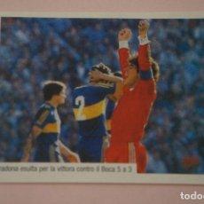 Cromos de Fútbol: CROMO DE FUTBOL IL PIU GRANDE MARADONA SIN PEGAR Nº 38 AÑO 2005 DE PREZIOSI COLLECTION. Lote 269286403