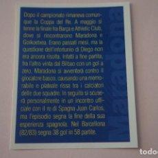 Cromos de Fútbol: CROMO DE FUTBOL IL PIU GRANDE MARADONA SIN PEGAR Nº 73 AÑO 2005 DE PREZIOSI COLLECTION. Lote 269287618