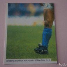 Cromos de Fútbol: CROMO DE FUTBOL IL PIU GRANDE MARADONA SIN PEGAR Nº 87 AÑO 2005 DE PREZIOSI COLLECTION. Lote 269287983