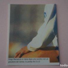 Cromos de Fútbol: CROMO DE FUTBOL IL PIU GRANDE MARADONA SIN PEGAR Nº 96 AÑO 2005 DE PREZIOSI COLLECTION. Lote 269288388