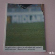 Cromos de Fútbol: CROMO DE FUTBOL IL PIU GRANDE MARADONA SIN PEGAR Nº 100 AÑO 2005 DE PREZIOSI COLLECTION. Lote 269288683